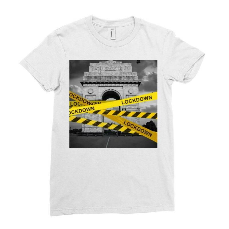 Lockdown Ladies Fitted T-shirt | Artistshot