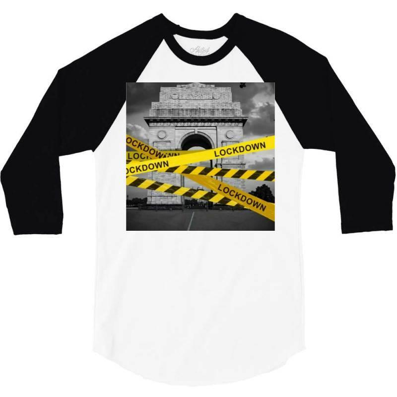 Lockdown 3/4 Sleeve Shirt | Artistshot