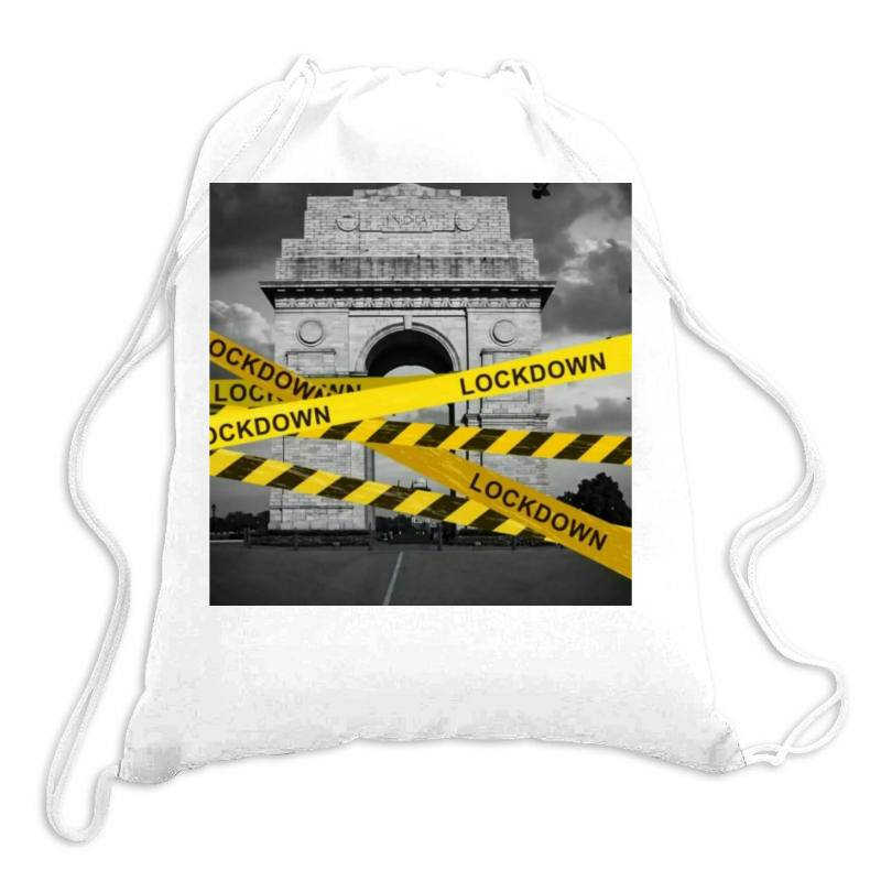 Lockdown Drawstring Bags   Artistshot
