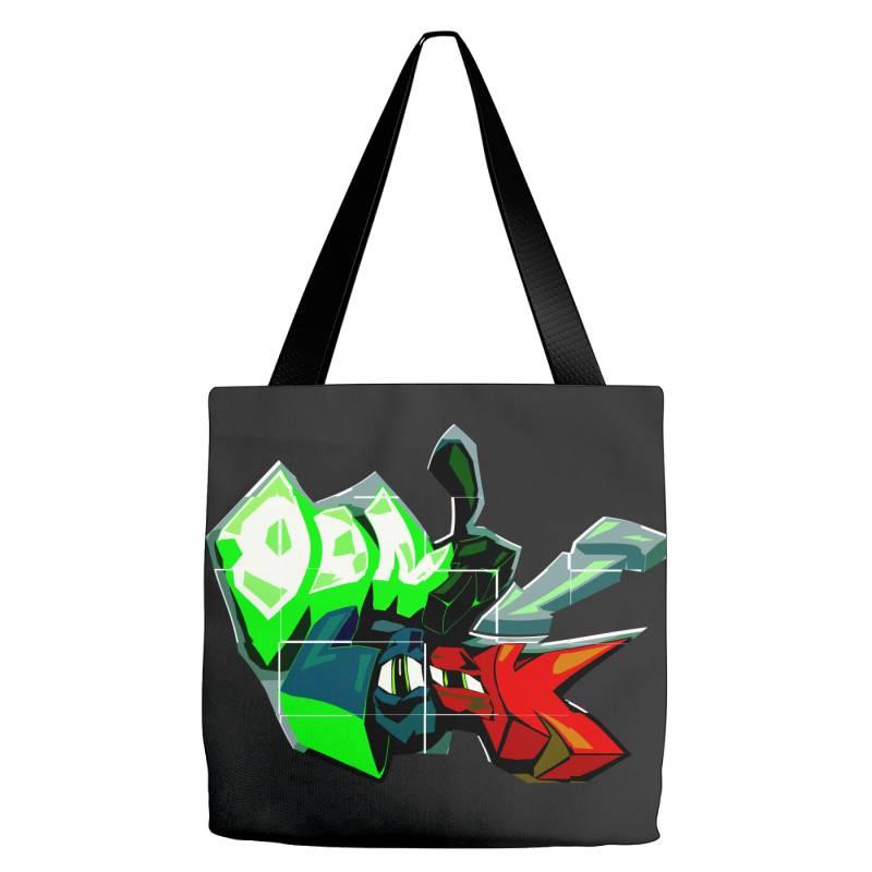 Don't Look Graffiti Tote Bags | Artistshot