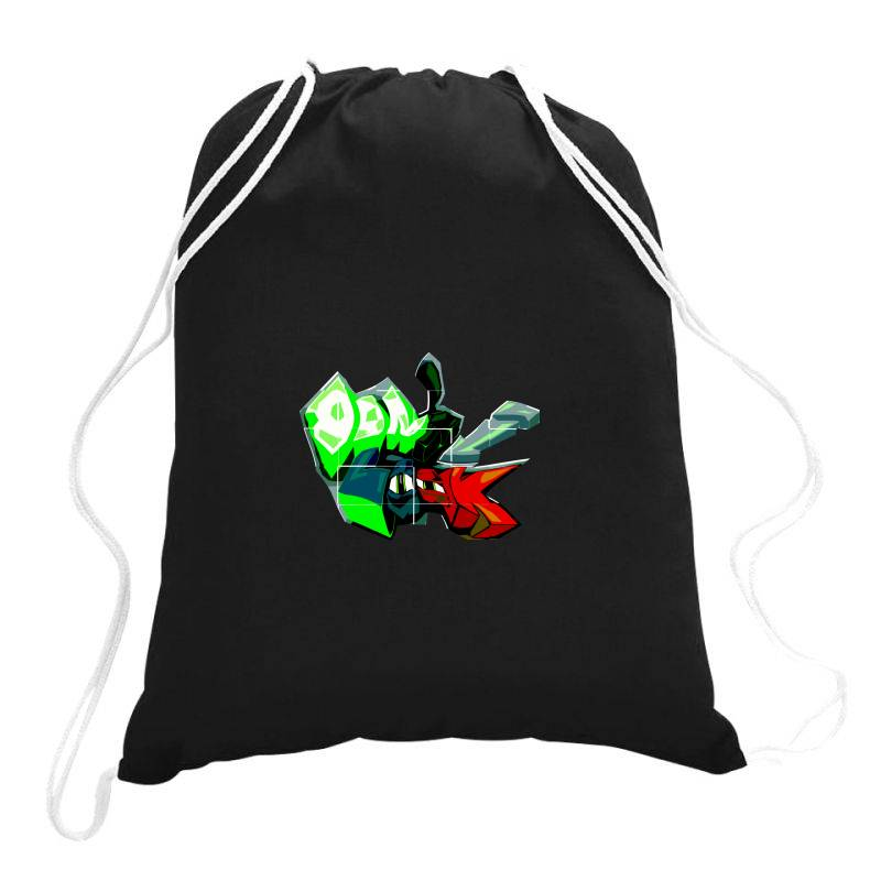 Don't Look Graffiti Drawstring Bags | Artistshot