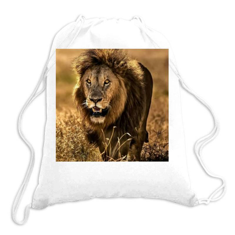 Lion Drawstring Bags   Artistshot