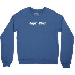 capt obvi Crewneck Sweatshirt | Artistshot