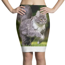 Cat Pencil Skirts | Artistshot