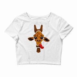 giraffe Crop Top   Artistshot