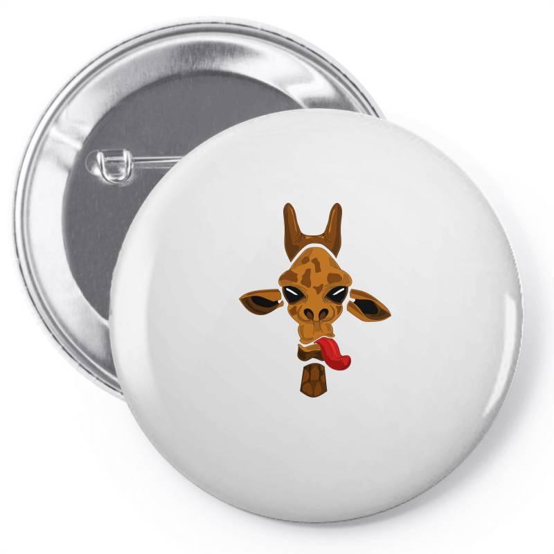 Giraffe Pin-back Button | Artistshot