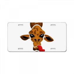 giraffe License Plate | Artistshot