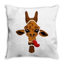 giraffe Throw Pillow | Artistshot