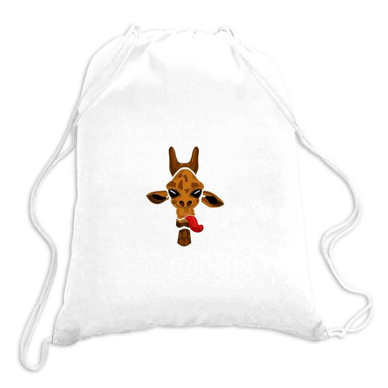 Giraffe Drawstring Bags | Artistshot