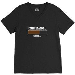 coffee loading 2 V-Neck Tee   Artistshot