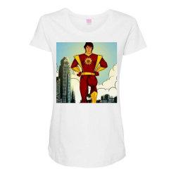 Save world Maternity Scoop Neck T-shirt | Artistshot