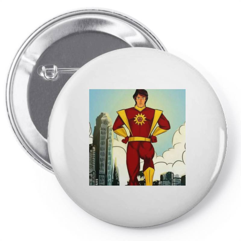 Save World Pin-back Button | Artistshot