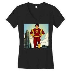 Save world Women's V-Neck T-Shirt | Artistshot