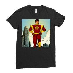 Save world Ladies Fitted T-Shirt | Artistshot