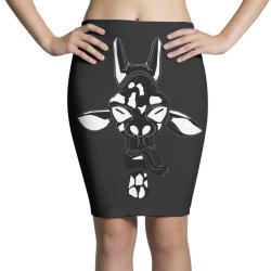 giraffe vector Pencil Skirts | Artistshot