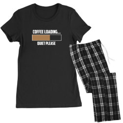 coffee loading 3 Women's Pajamas Set | Artistshot
