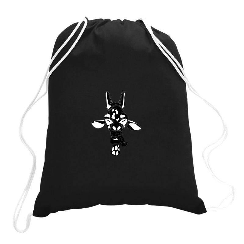 Giraffe Vector Drawstring Bags | Artistshot