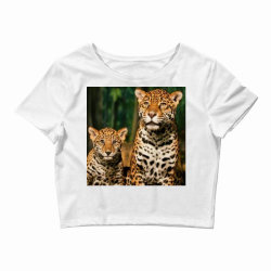 Leopard mom Crop Top | Artistshot