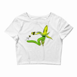 monster banana Crop Top | Artistshot
