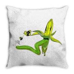 monster banana Throw Pillow | Artistshot
