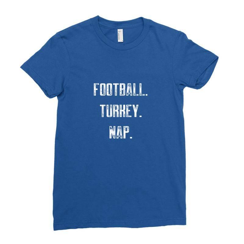 Football Turkey Nap Ladies Fitted T-shirt | Artistshot