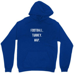 football turkey nap Unisex Hoodie | Artistshot