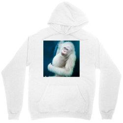 Albino orangutan Unisex Hoodie | Artistshot