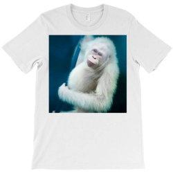 Albino orangutan T-Shirt | Artistshot