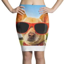 Cranky dog Pencil Skirts   Artistshot
