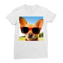 Cranky dog Ladies Fitted T-Shirt   Artistshot