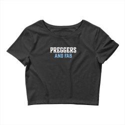 preggers and fab Crop Top   Artistshot