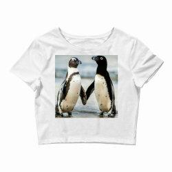 Baby penguin Crop Top   Artistshot