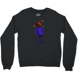 retro tv man Crewneck Sweatshirt | Artistshot