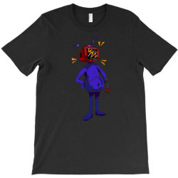 retro tv man T-Shirt | Artistshot