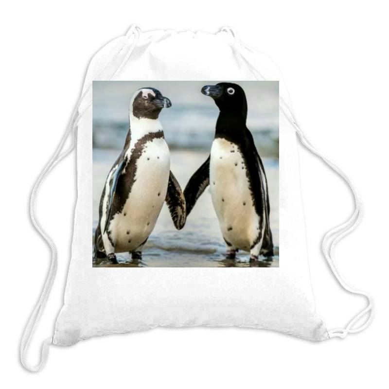 Baby Penguin Drawstring Bags | Artistshot