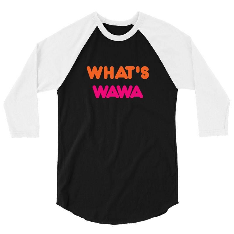 Wawa Addict 3/4 Sleeve Shirt | Artistshot