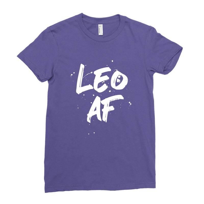 Leo Af Leo Birthday Zodiac Sign Horoscope Ladies Fitted T-shirt | Artistshot