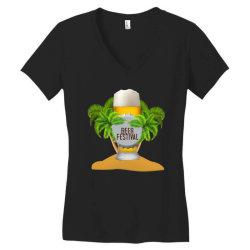 beer festival Women's V-Neck T-Shirt | Artistshot