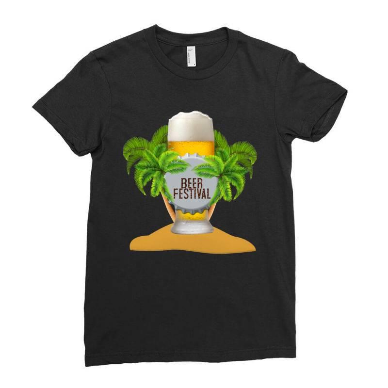 Beer Festival Ladies Fitted T-shirt | Artistshot
