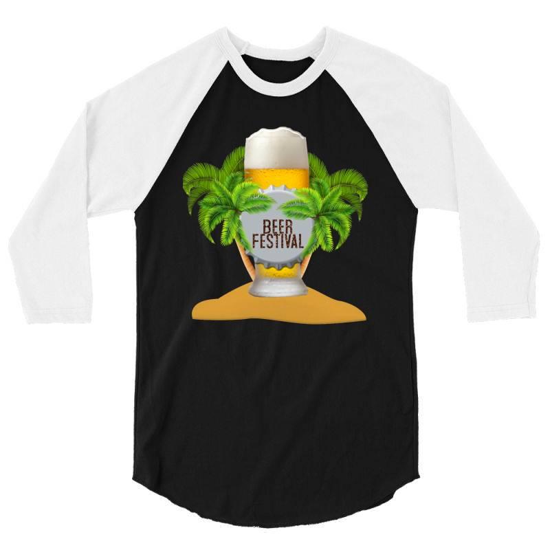Beer Festival 3/4 Sleeve Shirt | Artistshot