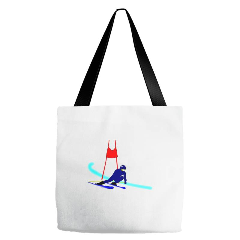 Competition Ski Slalom Sport Tote Bags   Artistshot