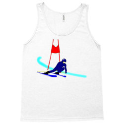 competition ski slalom sport Tank Top | Artistshot