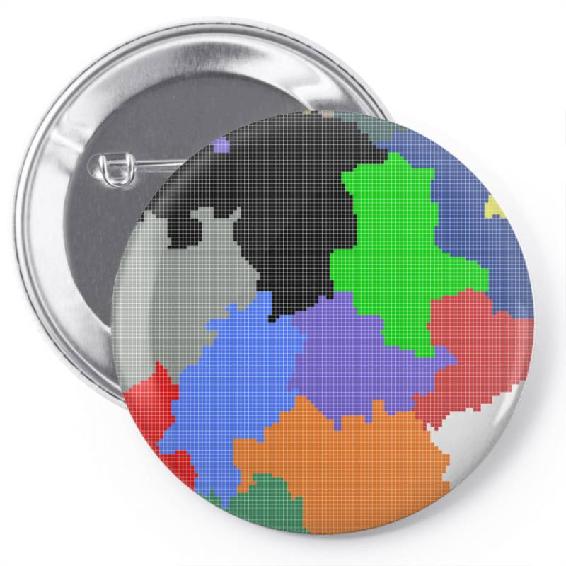 Germany Map Pin-back Button   Artistshot