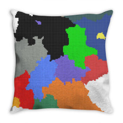 germany map Throw Pillow | Artistshot