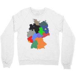 germany map Crewneck Sweatshirt | Artistshot