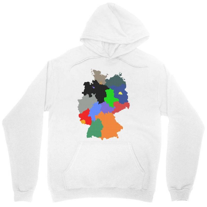 Germany Map Unisex Hoodie | Artistshot