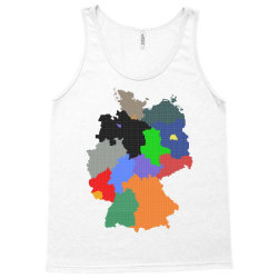 germany map Tank Top | Artistshot