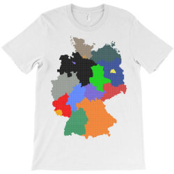 germany map T-Shirt | Artistshot