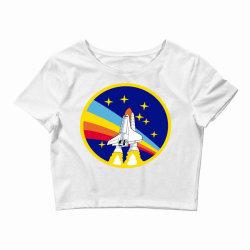 rocket space Crop Top | Artistshot