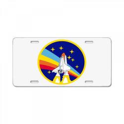rocket space License Plate | Artistshot